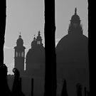 Venitian silhouette by almaalice