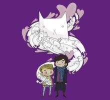 Sherlock and John: Cat jumper T-Shirt