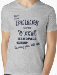 Peep Show – Men With Ven Mens V-Neck T-Shirt