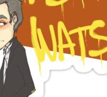 Trust in John Watson Sticker