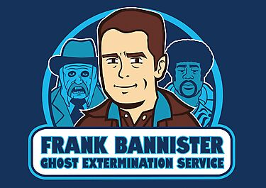 Frightener Ghost Extermination Service by Scott Weston