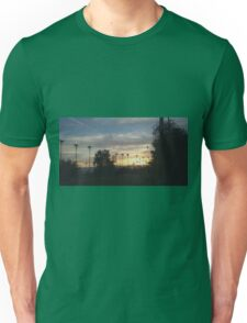 SUNRISE OVER SHADOW MOUNTAIN GOLF COURSE Unisex T-Shirt
