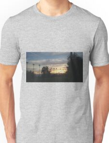 SUNRISE OVER SHADOW MOUNTAIN GOLF COURSE Unisex T-Shirt