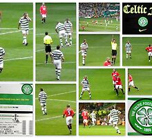 CELTIC FC Legends versus Man Utd Legends featuring Gerard Butler by ©The Creative  Minds