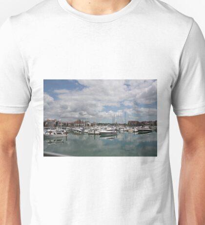 Quiet Marina Reflections Unisex T-Shirt