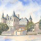 Château de la Rochefoucauld, France by ian osborne