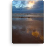 the endless sunrise day 4 Canvas Print