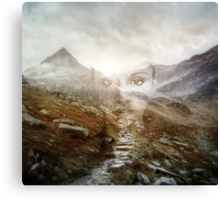 Faded Memory Canvas Print