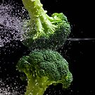 Broccoli Splash by Andrew Bret Wallis