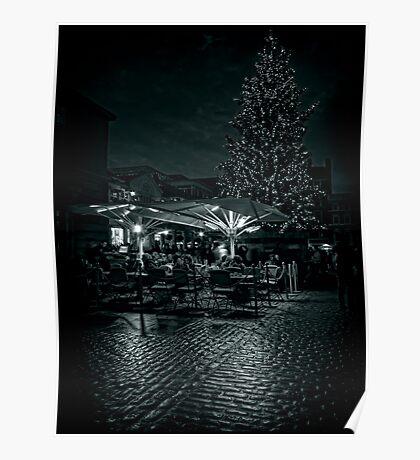 Covent Garden Christmas Poster