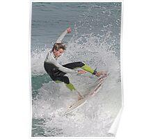 New Symrna Surfer Poster