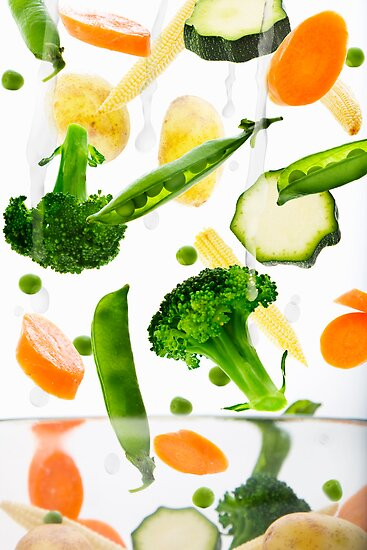 Healthy Vegetables by Andrew Bret Wallis