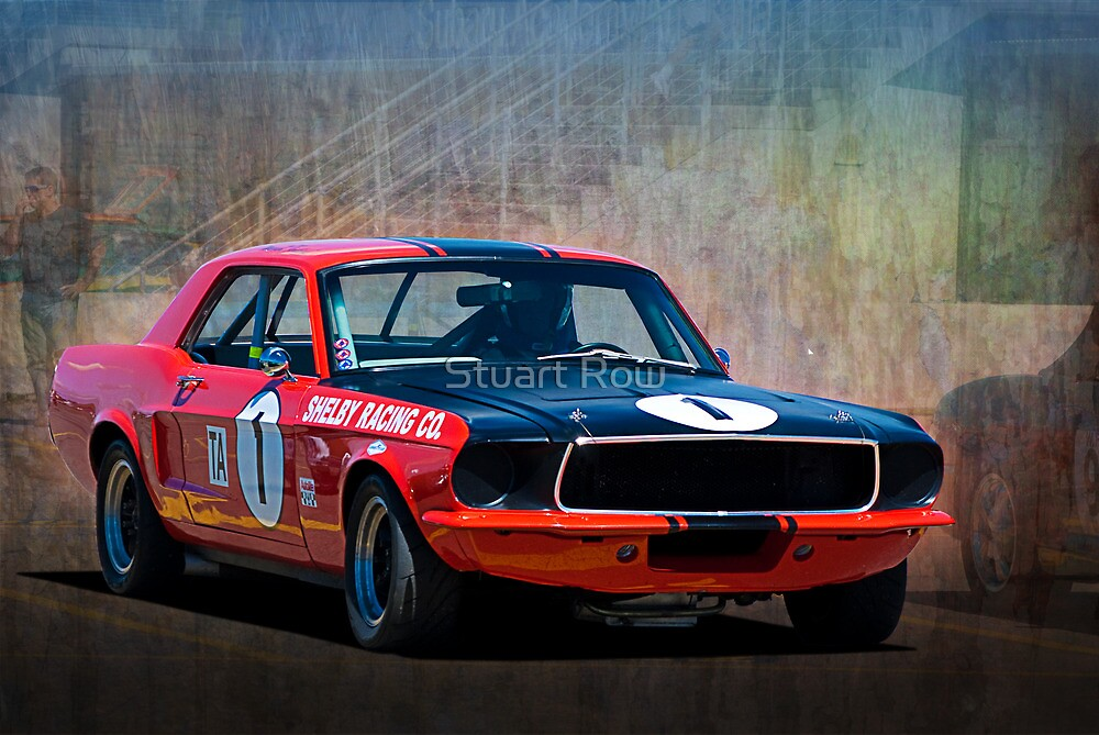 Shelby Racing Co Mustang by Stuart Row