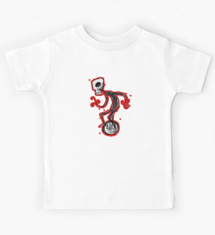 cyclops on a unicycle Kids Clothes