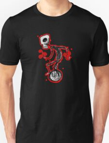 cyclops on a unicycle Unisex T-Shirt