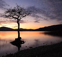 Loch Lomond Sunset by Photo Scotland
