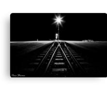 Rail X-ing Canvas Print