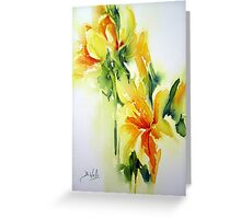 Daffodil-3 Greeting Card