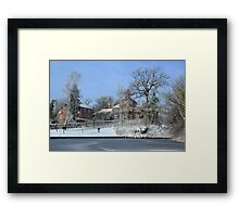 The White Swan Hotel Framed Print