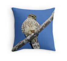 Preoccupied Throw Pillow