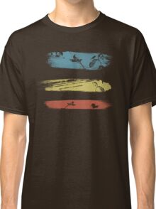 Enchanting Nature Cool Grunge Vintage T-Shirt Classic T-Shirt