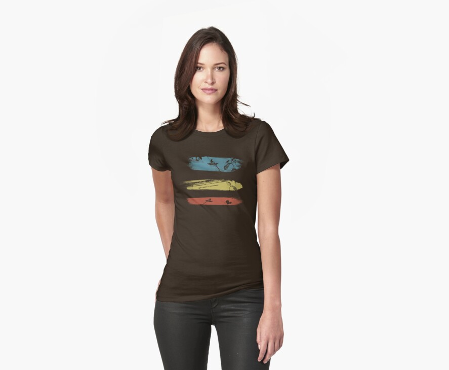 Enchanting Nature Cool Grunge Vintage T-Shirt by Denis Marsili
