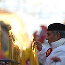 Saint Agatha Feast, Catania - Lighting the candle of the faith by cicciofarmaco