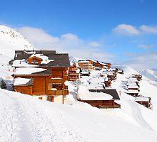 Ski Town by Emma Holmes