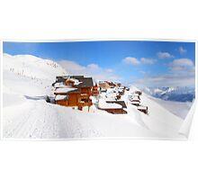 Ski Town Poster