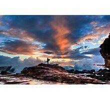 Surf Alone Photographic Print