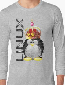 Linux - King Long Sleeve T-Shirt