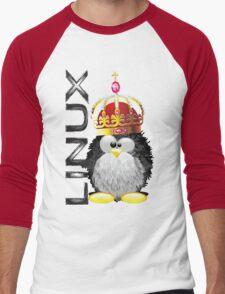 Linux - King Men's Baseball ¾ T-Shirt