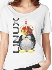Linux - King Women's Relaxed Fit T-Shirt