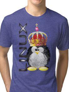 Linux - King Tri-blend T-Shirt