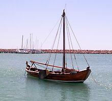Dutch Vessel #2 by Elaine Teague