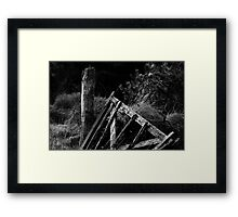 Broken gate, Brandon Hill, County Kilkenny, Ireland Framed Print