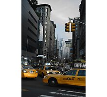 Crowdy city Photographic Print