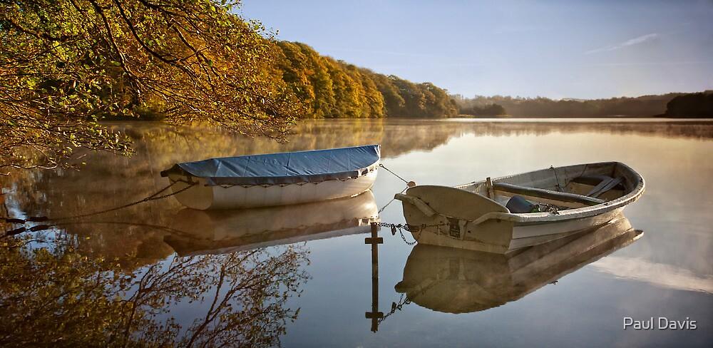 Boats at Hald by Paul Davis