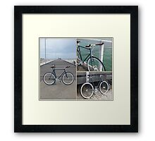 Beach Bike Framed Print
