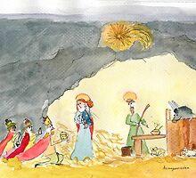 Nativity scene by Joanna S.