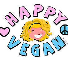Happy Vegan  by iveno