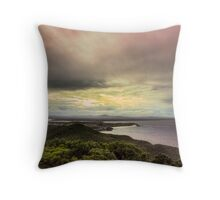 Forster Sunset Rainbow Throw Pillow