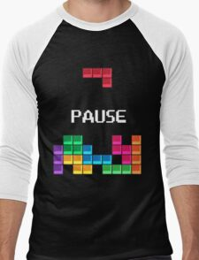 Tetris!!!! Men's Baseball ¾ T-Shirt