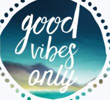 Good Vibes Island Sticker
