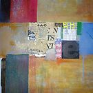 Abstract art collage by Andy  Housham