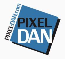 Pixel Dan Logo Kids Tee