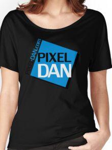 Pixel Dan Logo Women's Relaxed Fit T-Shirt