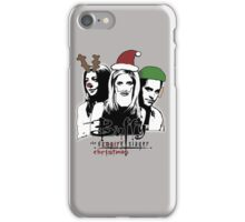 Buffy the Christmas Slayer! iPhone Case/Skin