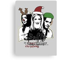 Buffy the Christmas Slayer! Canvas Print