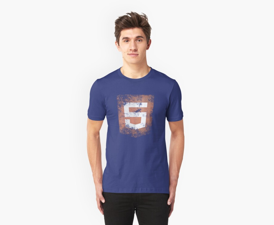HTML5 Logo Distressed by abinning